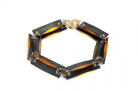 Ralph Bakker, Dutch Design Miami, gold, earrings, enamel