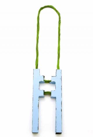 Sara Borgegard steel necklace