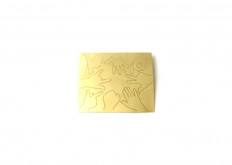 Gerd Rothmann brooch, fingerprint