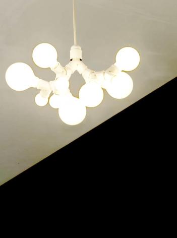 Lampe double douilles