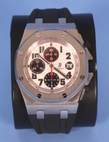Audamars Piquet Stainless Steel Chronograph Watch Ref. 26170ST.OO.D101CR.02