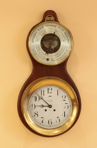 Chelsea Unique Mounted Clock and Barometer