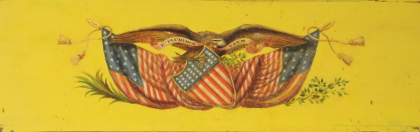 19th Century Patriotic American Plaque