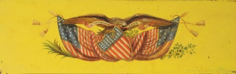 19th Century Patriotic American Plaque