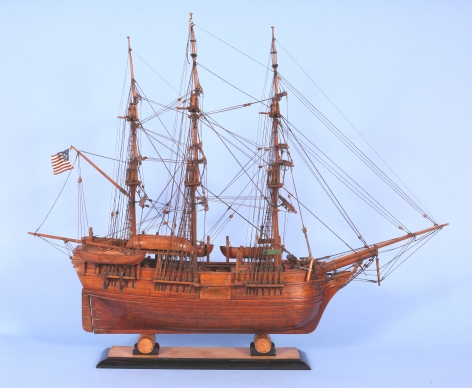 Cased Model of the Whale Ship James Arnold by Peter Ness