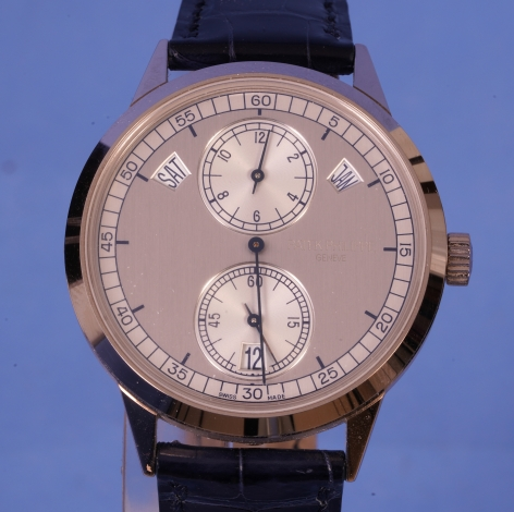 White Gold Patek Phillipe Regulator Watch Ref. 5235G-001