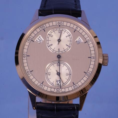 White Gold Patek Phillipe Regulator Watch Ref. 5235G-001
