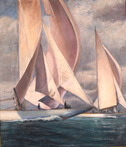 J Boats 1937 America's Cup by Max Kuehne