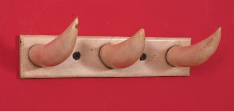 Whale Bone and Whale Ivory Coat Rack