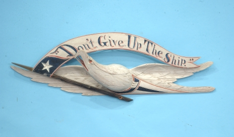 """Don't Give Up The Ship"" Eagle by John Haley Bellamy"