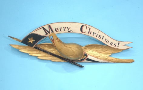 """Merry Christmas"" Eagle by John Haley Bellamy"