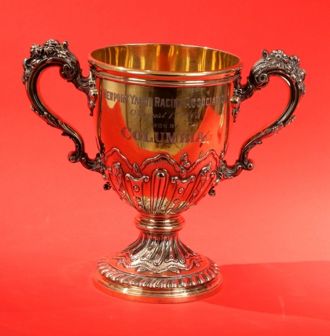JP Morgans Trophies Won by Colombia in 1901 by William Durgin Co. NY