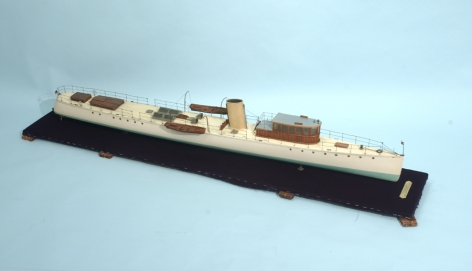 Model of the Yacht Arrow