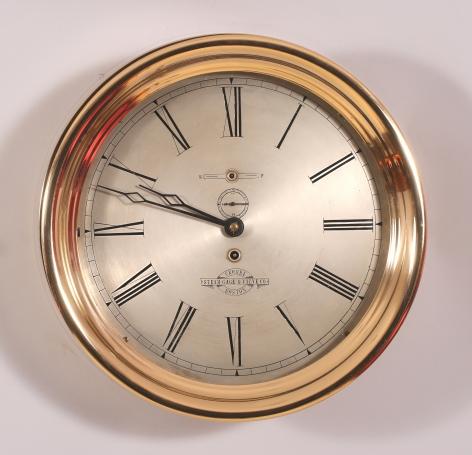 12 Inch Howard Ships Clock