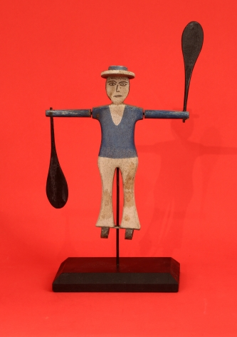 Carved and Painted Small Sailor whirligig (FA-1053)