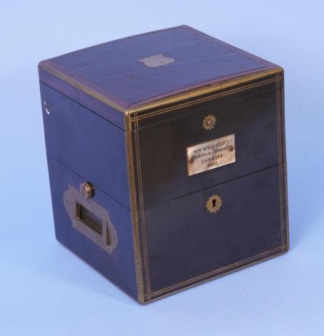 Ebony Boxed William Weichert 56 Hour Ship's Chronometer