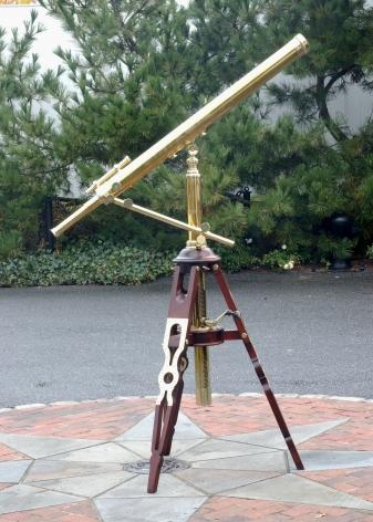 3 Inch Bardou Floor Standing Telescope