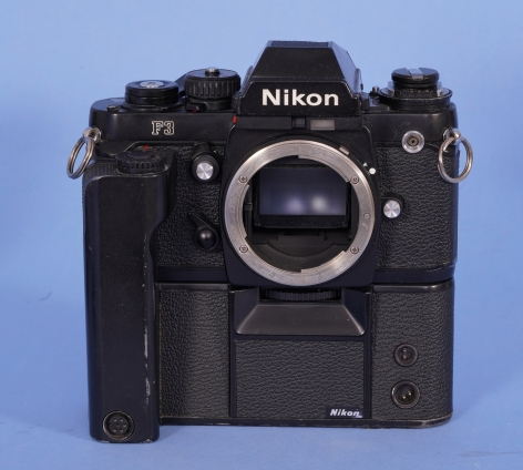 Nikon F3 #180117Black Body with MD-4 Moter Drive #211770