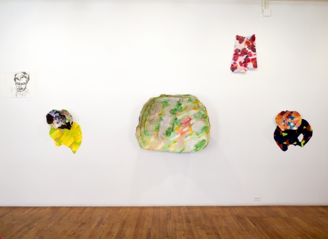 gorchov exhibition main wall installation