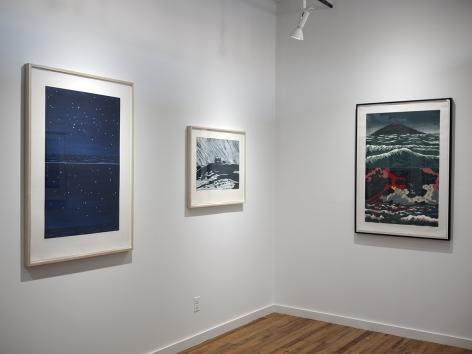 Richard Bosman prints exhibition installation view