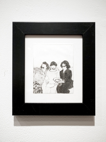 elin rodseth framed Networkers print
