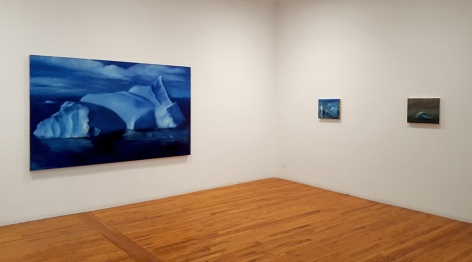 karen marston big and small iceberg paintings