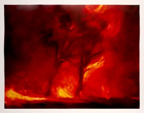 karen martson raging fire painting