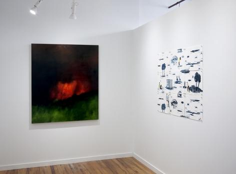 Karen Marston and Elin Rodseth artwork installation