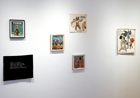 china marks and dina gadia artworks installed