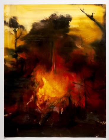 karen marston heart of fire painting