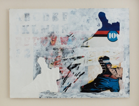 Isabel Santos painting collage