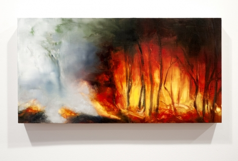karen marston hollowed out painting