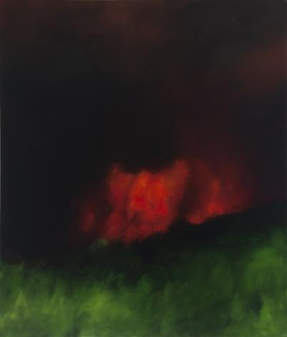Karen Marston Night Blaze, 2012 Oil on linen 54 x 46 in. / 137.2 x 116.8 cm.