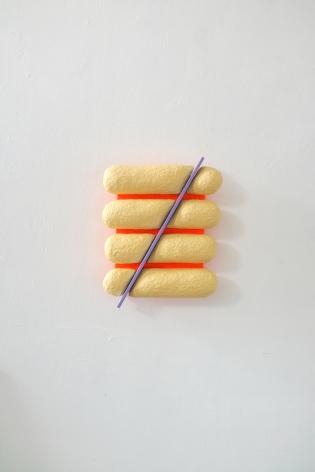 Chiaozza Soft Slice, 2019 Acrylic on paper pulp