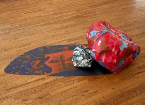Gorchov Plaster floor sculpture