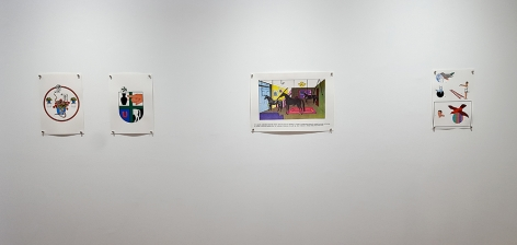 dina gadia 4 paper collages