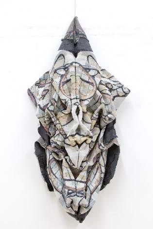david smith bomber bird fabric sculpture