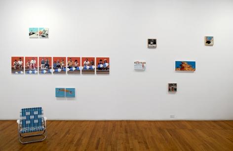 Mark Man Souvenir exhibition installation