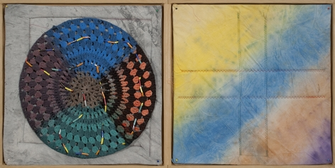 Alan Shields Untitled B, 1972 Mixed media book 19 1/2 x 19 1/2 in. (49.5 x 49.5 cm) Edition of 30 (part 2/2)