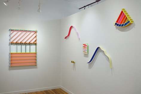chiaozza wall sculptures installation