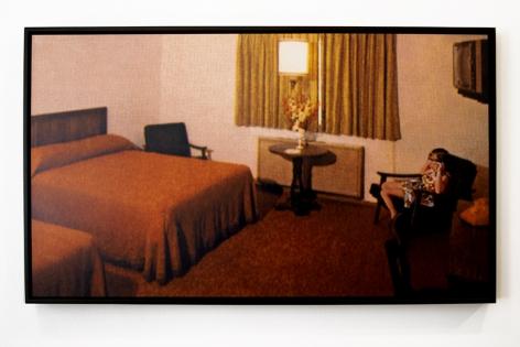mark mann red room digital collage
