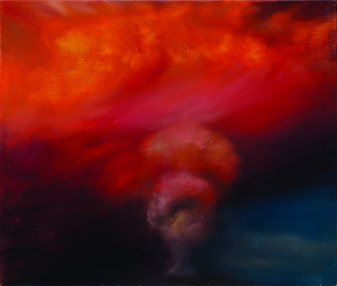 Karen Marston ​Volcano at Sunset, 2015 Oil on linen
