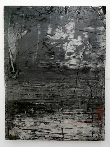 Thaiwijit Puengkasemsomboon Untitled (Monochrome 1), 2017 oil on canvas