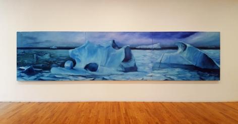 karen marston large iceberg painting