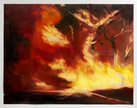 karen marston line of fire painting