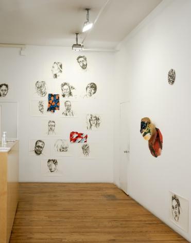 concavity exhibition corner installation