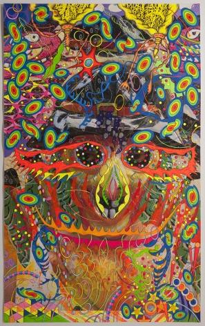 Dex Fernandez embroidery collage