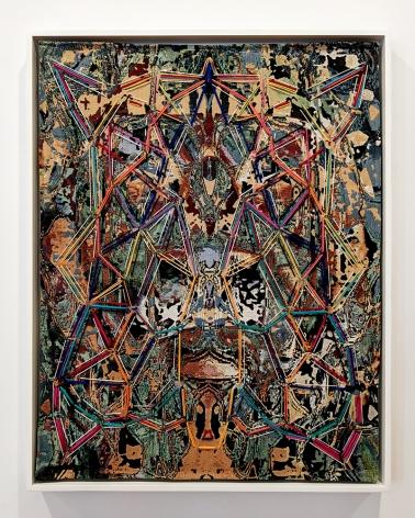 david smith memory palace fabric painting