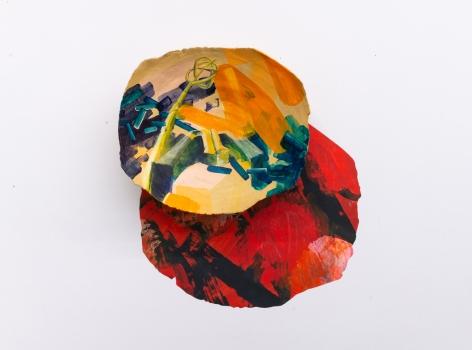 Rachael Gorchov - Lamp Post, The Rockaways with Plaster Sculpture, NCC, 2019