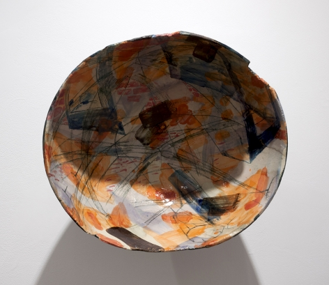 Rachael Gorchov Tunnel Stair, 2017 Glazed ceramic 12 x 13 1/2 x 7 1/2 in. / 30.5 x 34.3 x 19 cm.